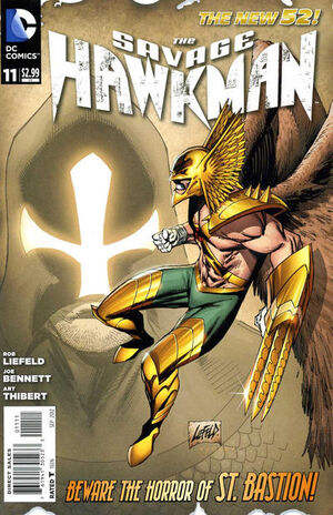Cover for Savage Hawkman #11