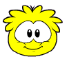 Yellow puffle new look
