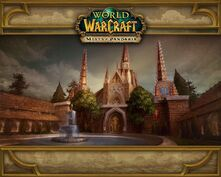 Scarlet Monastery MoP loading screen