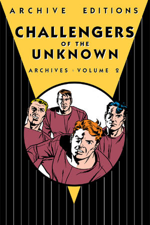Cover for Challengers of the Unknown Archives #2