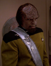 Worf dress sash