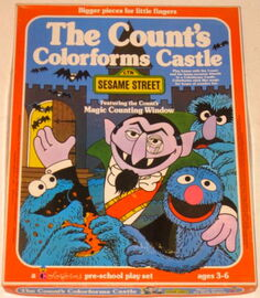 Colorforms 1977 count&#39;s castle