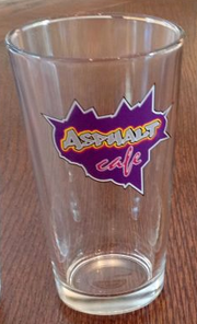 Asphalt cafe cup