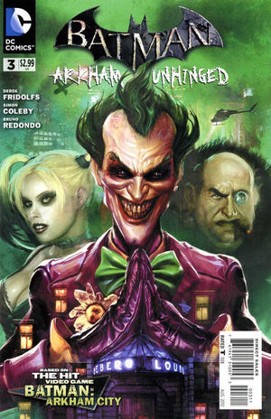 Cover for Batman: Arkham Unhinged #3