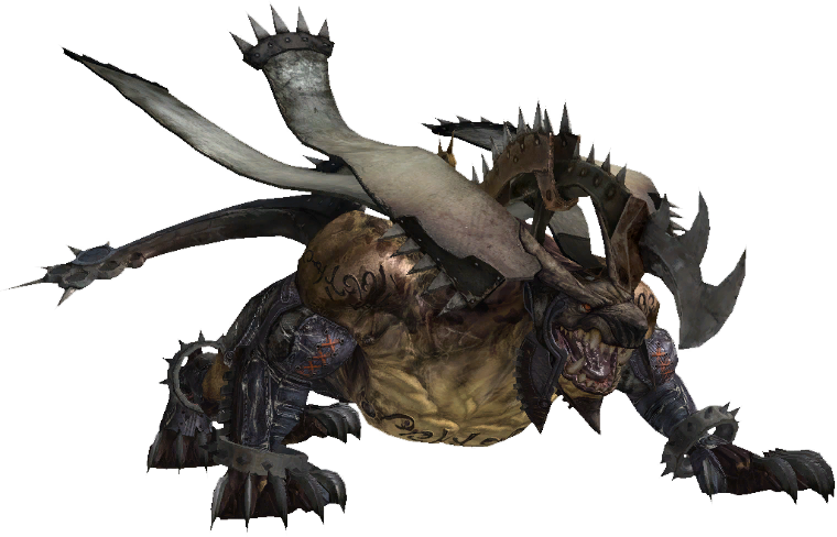 FFXIII enemy Greater Behemoth
