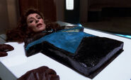 Deanna Troi cake