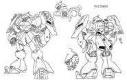 Jagd Doga Quess Custom Lineart
