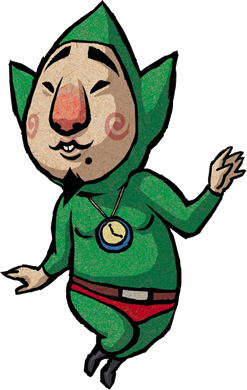 Tingle Artwork - The Wind Waker
