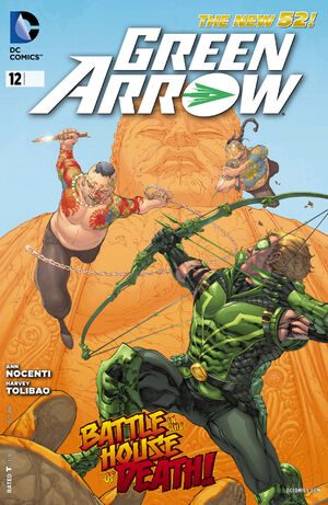 Cover for Green Arrow #12