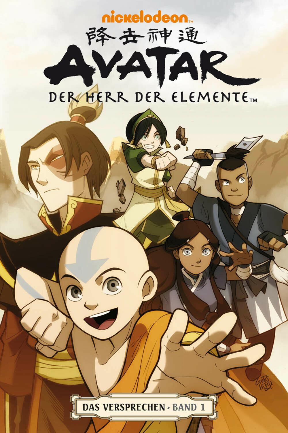 Avatar - Die Legende von Aang - Seite 2 Avatar_Das_Versprechen_Band_1
