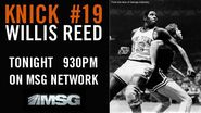 MSG Network&#39;s Knick -19, Willis Reed Video Promo For Thursday Night, June 23, 2011