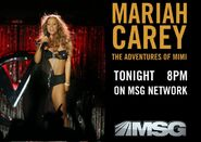 MSG Network&#39;s Mariah Carey, The Adventures Of Mimi Video Promo For Friday Night, July 8, 2011