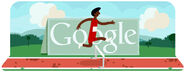 Google London 2012 Olympic Games - Hurdles