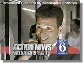 WPVI-TV's Channel 6 Action News At 6 And 11's Sports With Gary Papa, Gary's Father Video Promo From August 1993