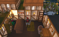 Emote clue Cry Catherby archery shop