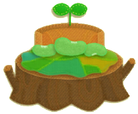 KEY Tree-Stump Bed sprite