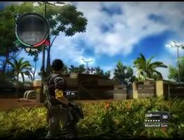 Just Cause 2 - Kepulauan Pelaut Alpha - communication outpost 21