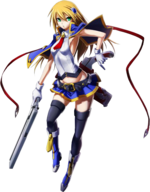Noel Vermillion (Chrono Phantasma, Character Select Artwork)