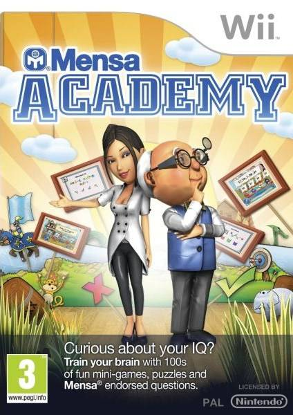 american mensa academy [WII] [ENG]