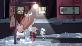 S1e6 drink from hydrant