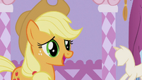 Applejack &#39;I was just gonna wear my old work duds&#39; S1E14