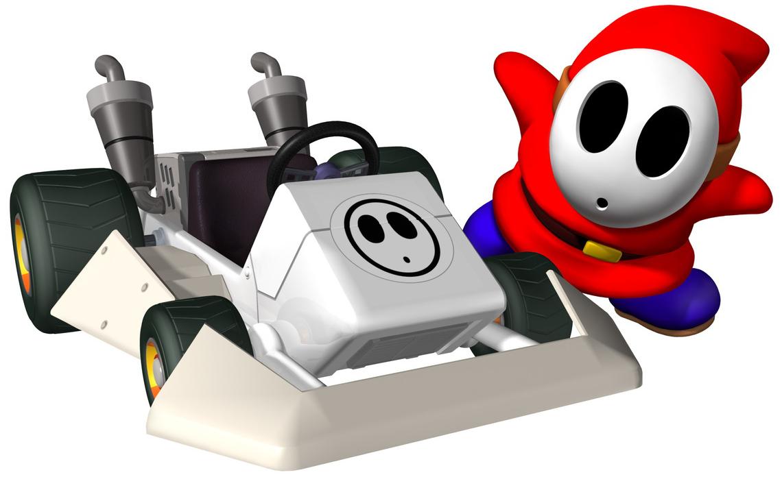Shy Guy - The Mario Kart Racing Wiki - Mario Kart, Mario Kart DS