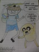 Finn and jake in filipino