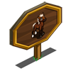 American Quarter Foal Mastery Sign-icon