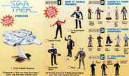 Playmates Star Trek figures