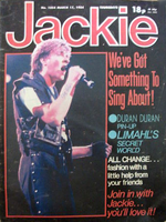 JACKIE magazine no.1054 17th March 1984 with DURAN DURAN and HOWARD JONES wikipedia