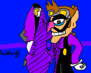 Sonic riders waluigi by net24-d4lqiqn
