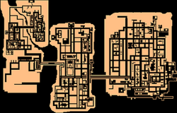 GTA A Liberty City Map