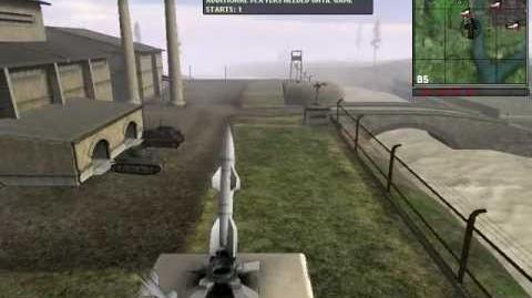 Battlefield 1942 The Wasserfall Missile