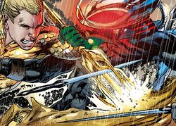 Aquaman vs Manta comics