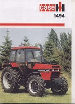 Case IH 1494 MFWD brochure - 1986