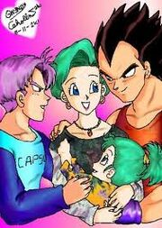 Vegeta's Loving Family