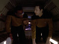 Data and La Forge in jefferies tube.jpg