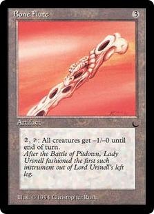 Bone Flute The Magic The Gathering Wiki Magic The