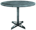 Vault table round