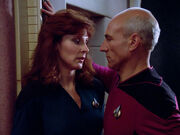 Crusher and Picard get close