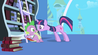 "Twilight ""imperative"" to notify Celestia S1E01"