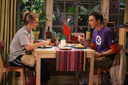 The Spaghetti Catalyst - Sheldon and Penny having dinner