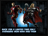 DVD LE Avengers Iron man and Thor
