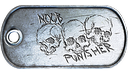 Noob Punisher Dog Tag