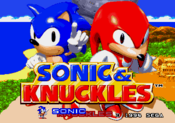 Title Screen - Sonic and Knuckles