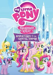 &quot;Adventures In The Crystal Empire&quot; Region 1 DVD Cover