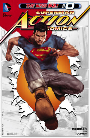 Cover for Action Comics #0
