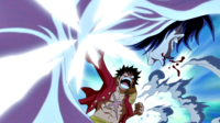 Luffy vs Clown 2