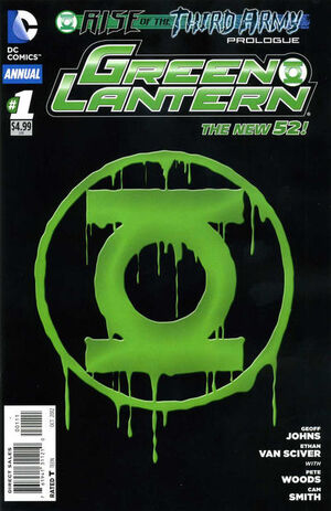Cover for Green Lantern Annual #1