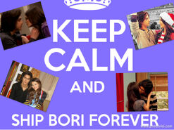 Keep calm bori